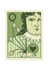 Queen of Hearts Print