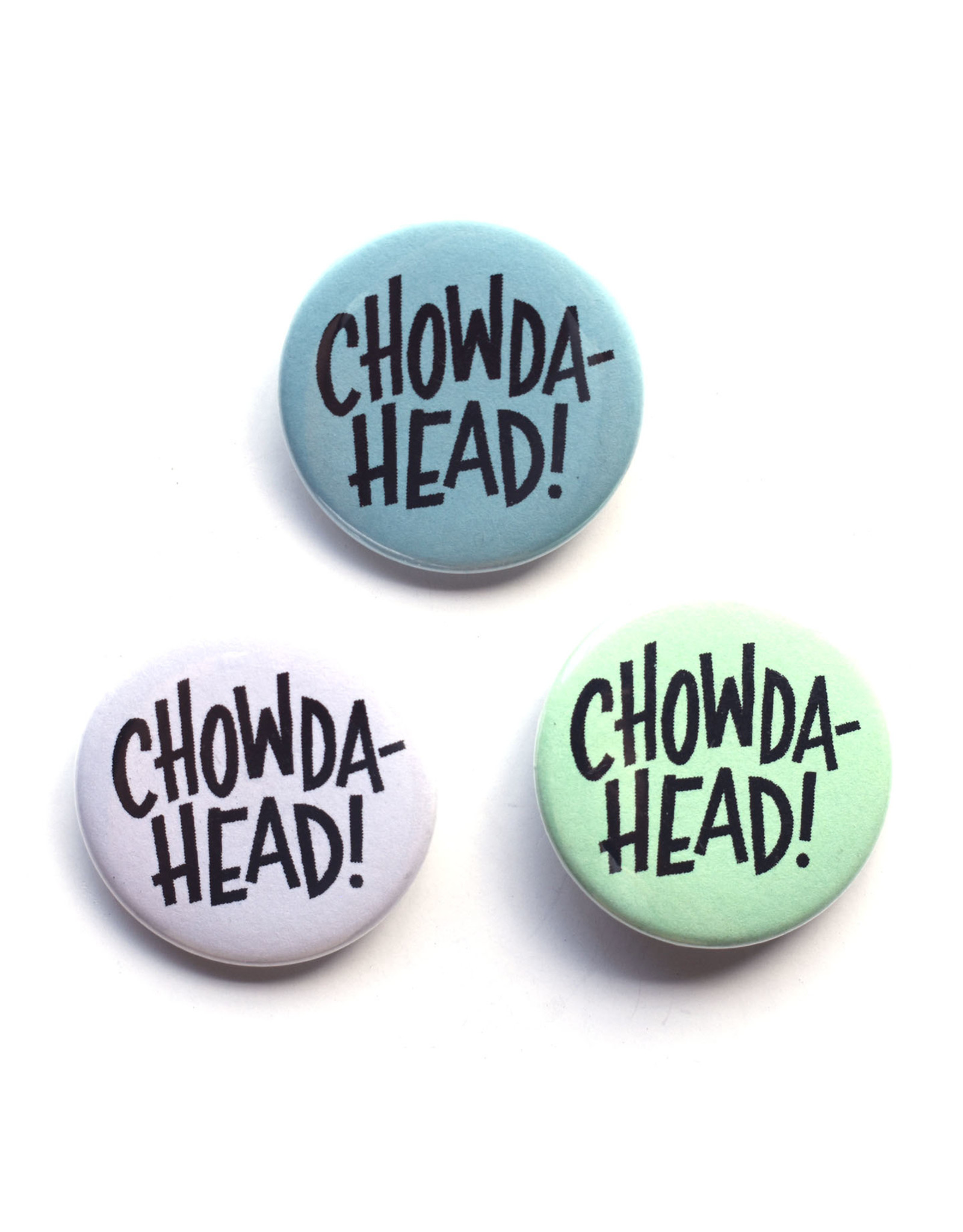 Chowdahead (MA) Button (Assorted)