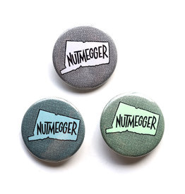Nutmegger CT Button (Assorted)