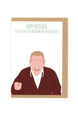Happy Festivus (Seinfeld) Greeting Card