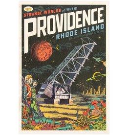 Strange Worlds of When! Print - Crook Point Bridge