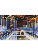 "Providence ""At Night"" Postcard"