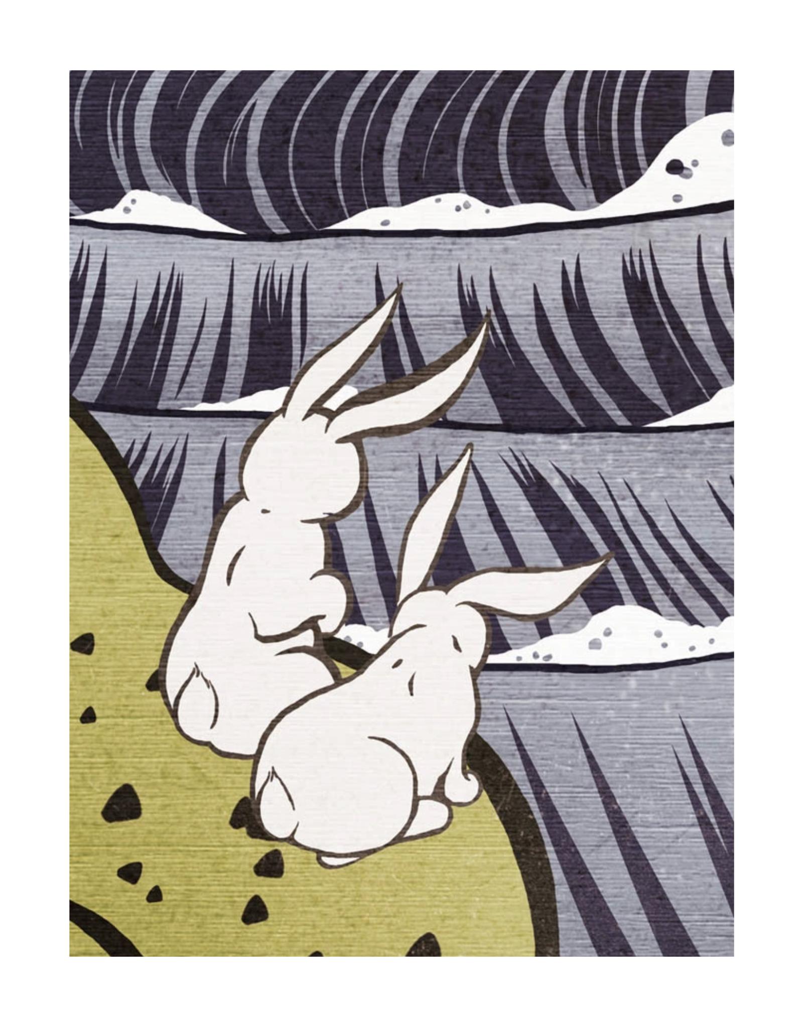 The Bunnies in Fall Print