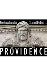 Scariest Dude In Providence Print