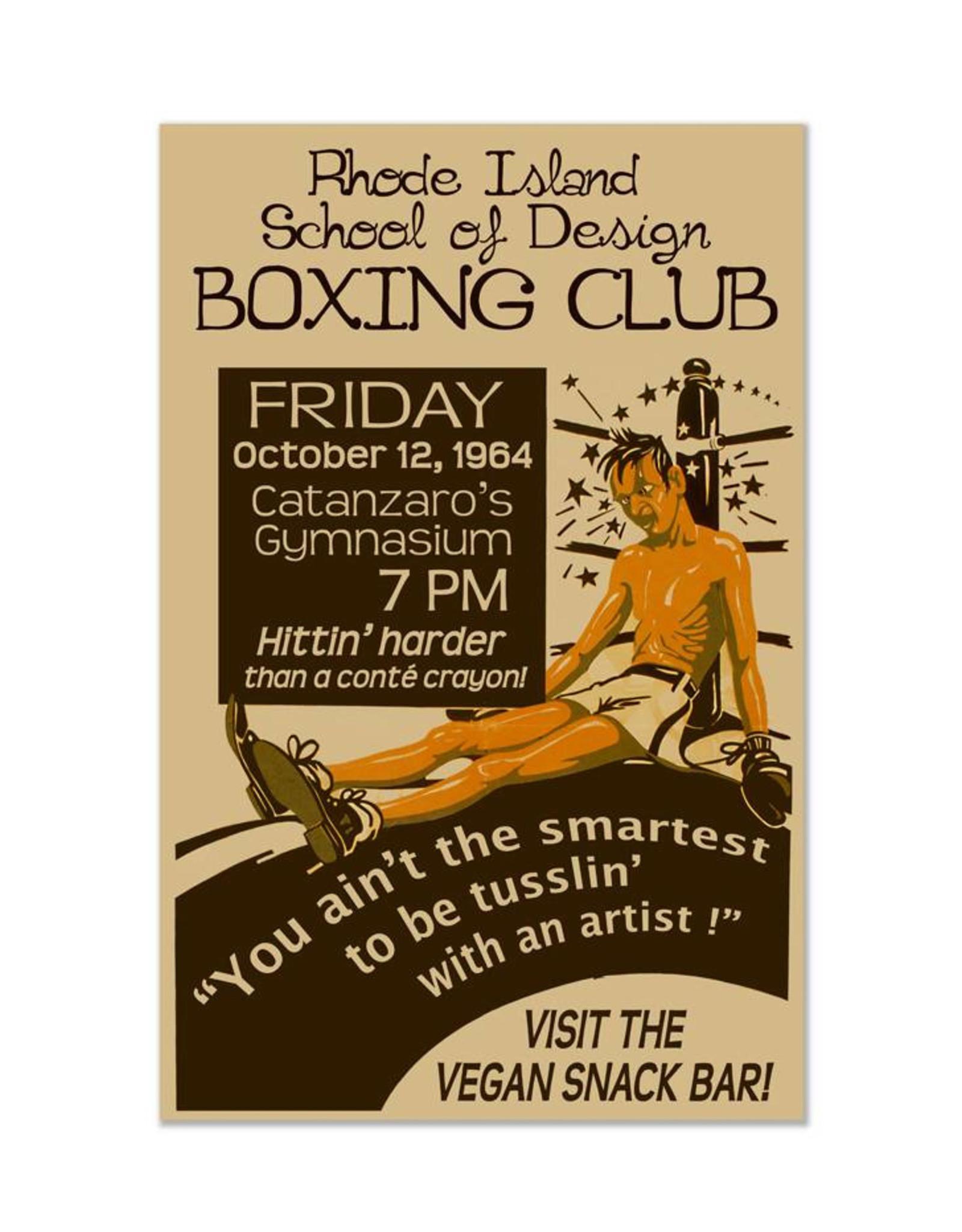 RISD Boxing Club Print