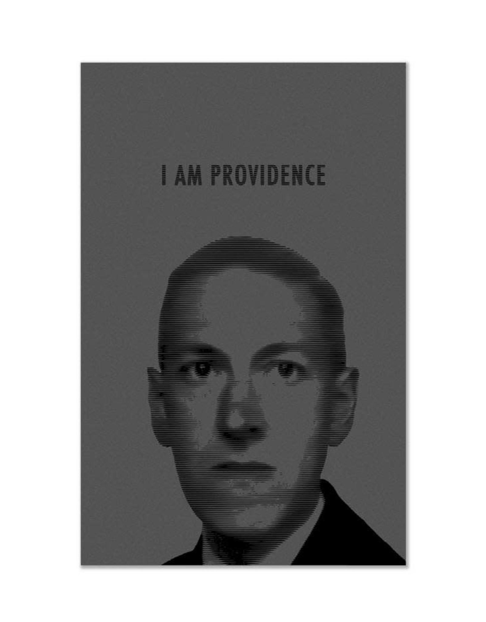 "HP Lovecraft ""I am Providence"" Print"