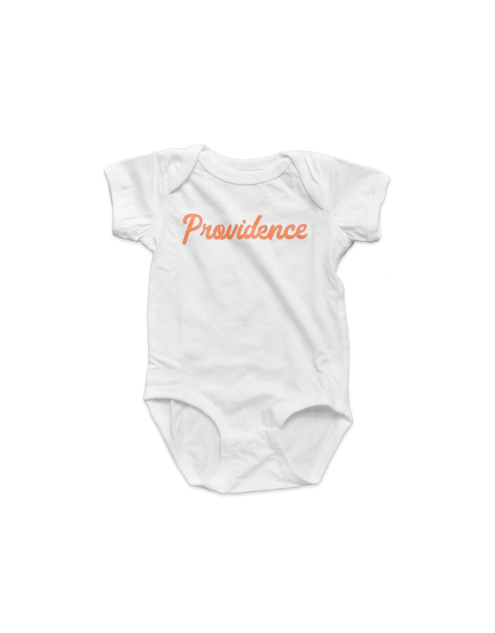 Providence Script Onesie