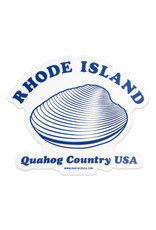 Rhode Island Quahog Country Sticker