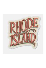 Rhode Island Acrylic Pin