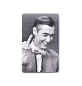 Mister Rogers Middle Finger Magnet