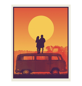 Sun Van Print