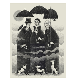 Vampire Dog Walkers Print