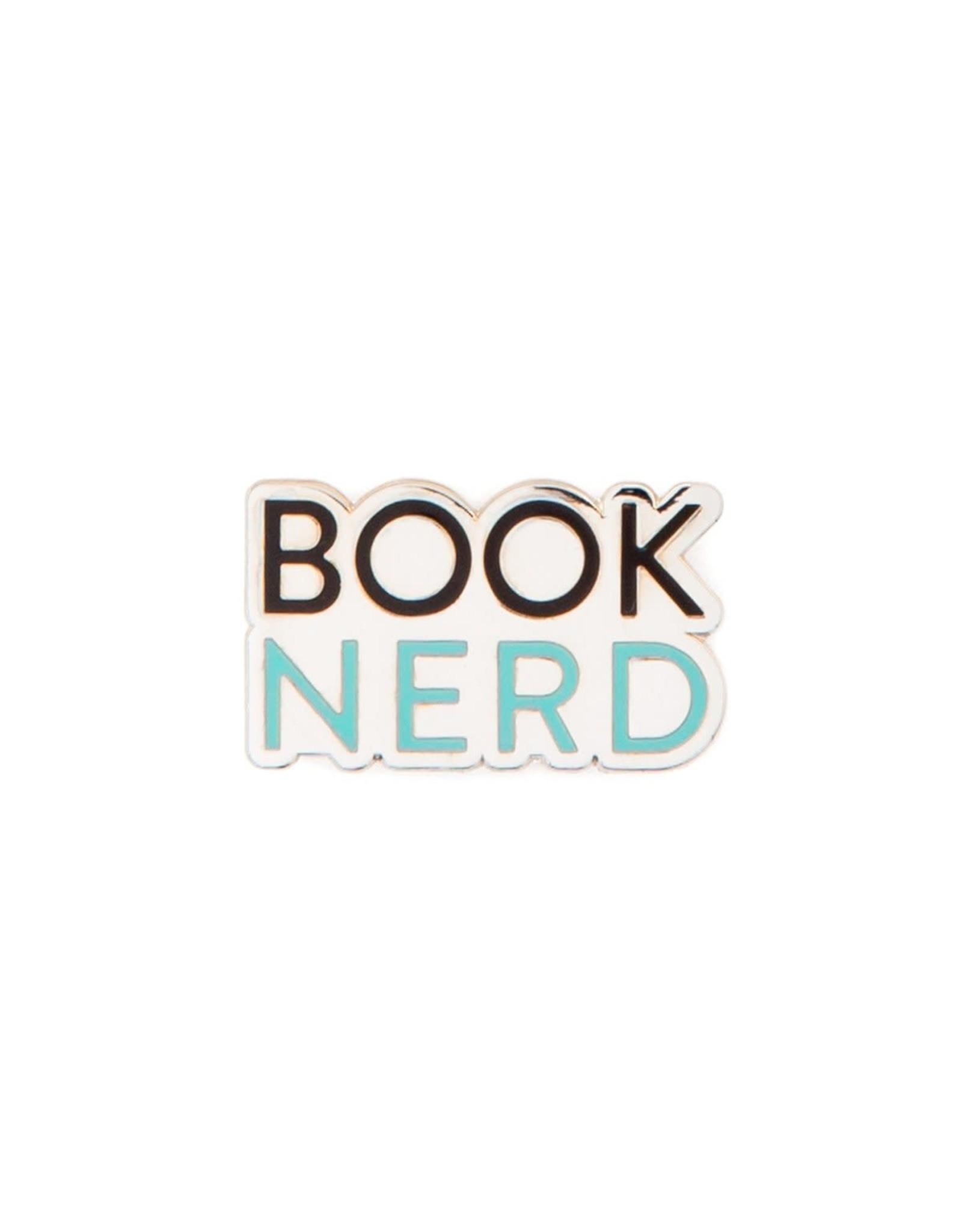 Book Nerd Enamel Pin