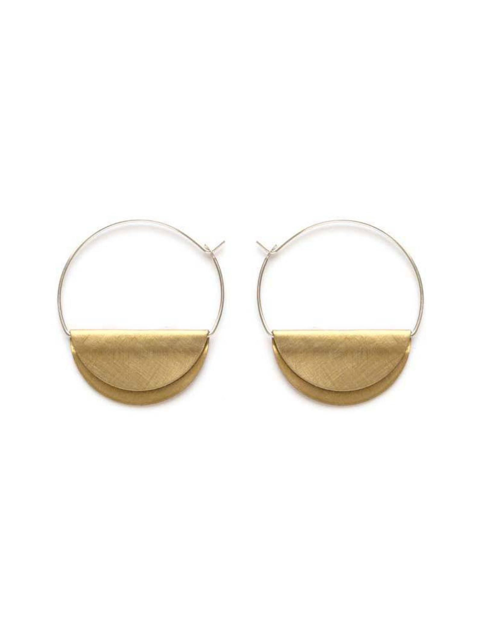 Hathor Hoop Earrings