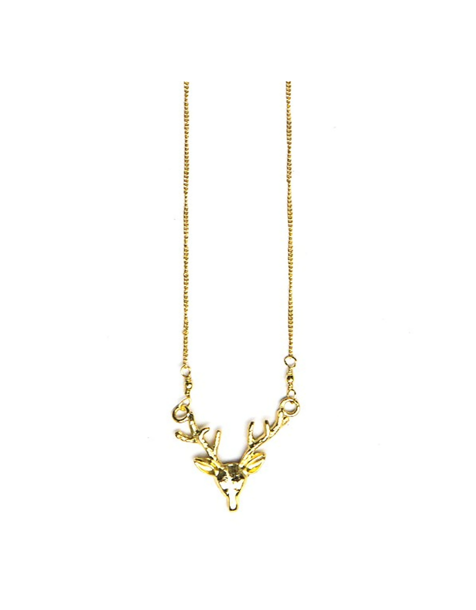 Antlers Necklace (Brass or Silver!)