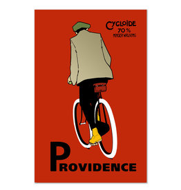Providence Cyclist Print