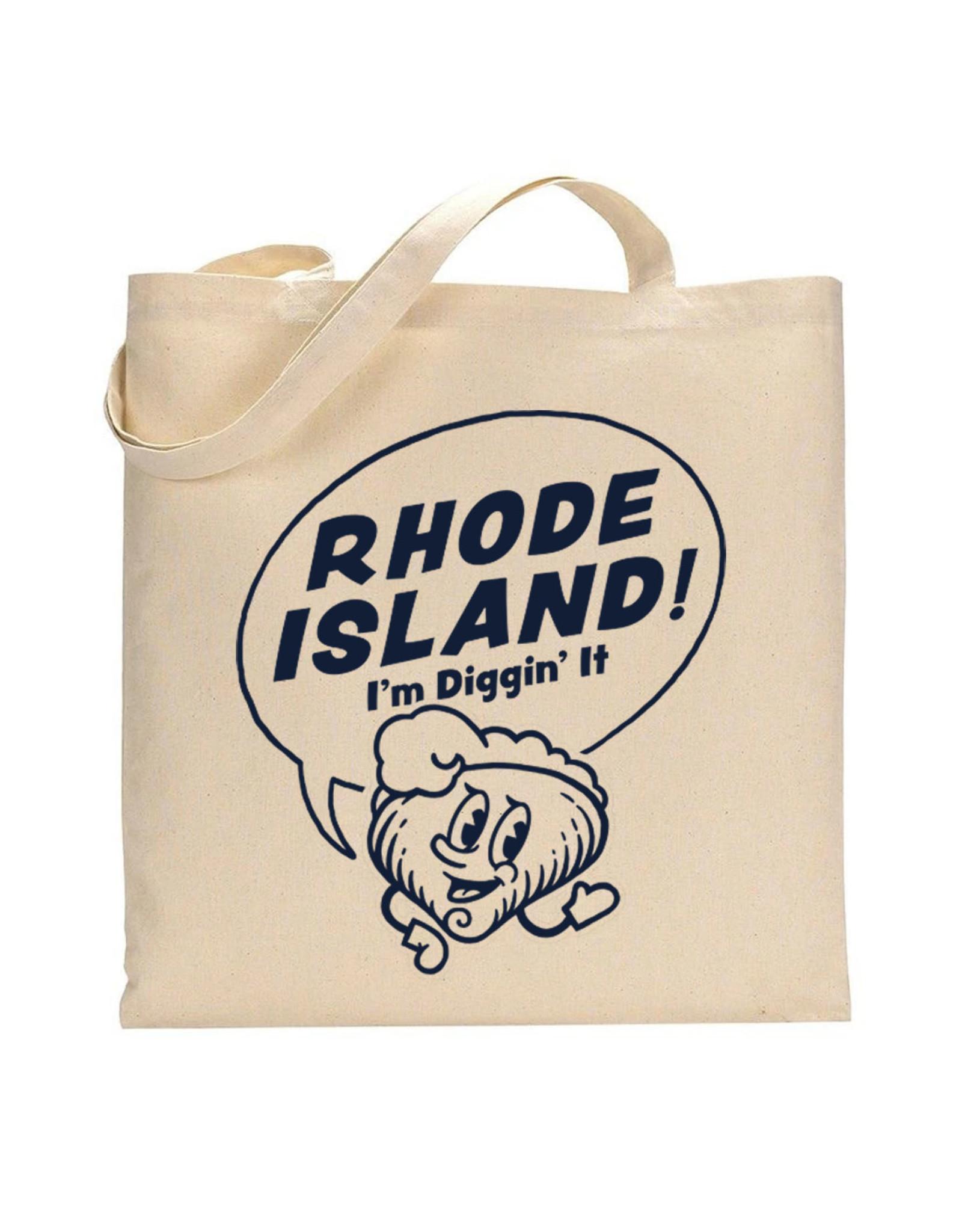Rhode Island! I'm Diggin' It Clancy Tote