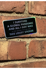 Survived a Pandemic Sticker