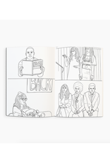 New Girl Coloring Book