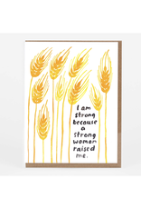 I Am Strong Greeting Card