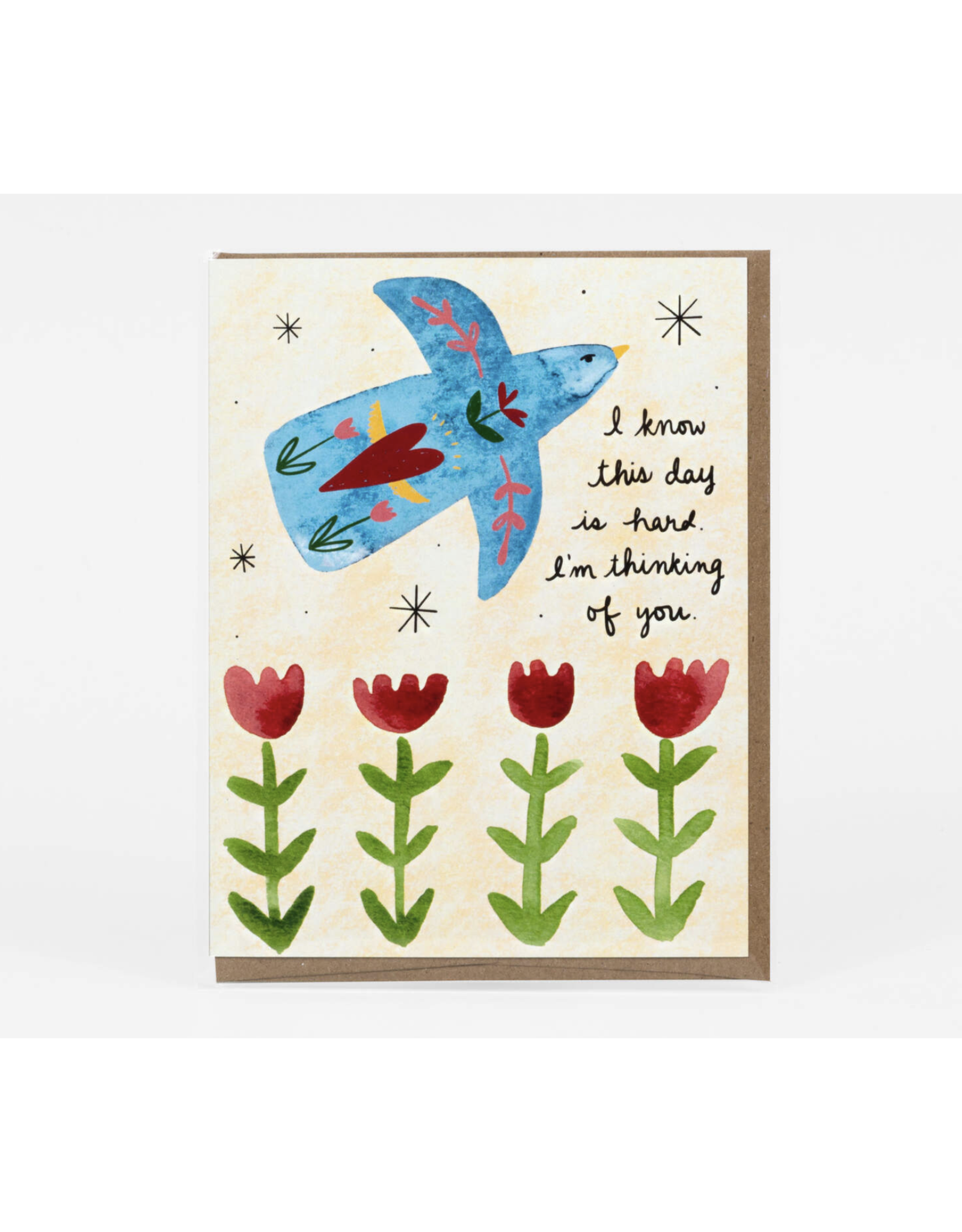 I Know This Day Is Hard Greeting Card