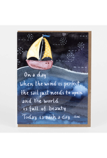 The World is Full of Beauty Greeting Card