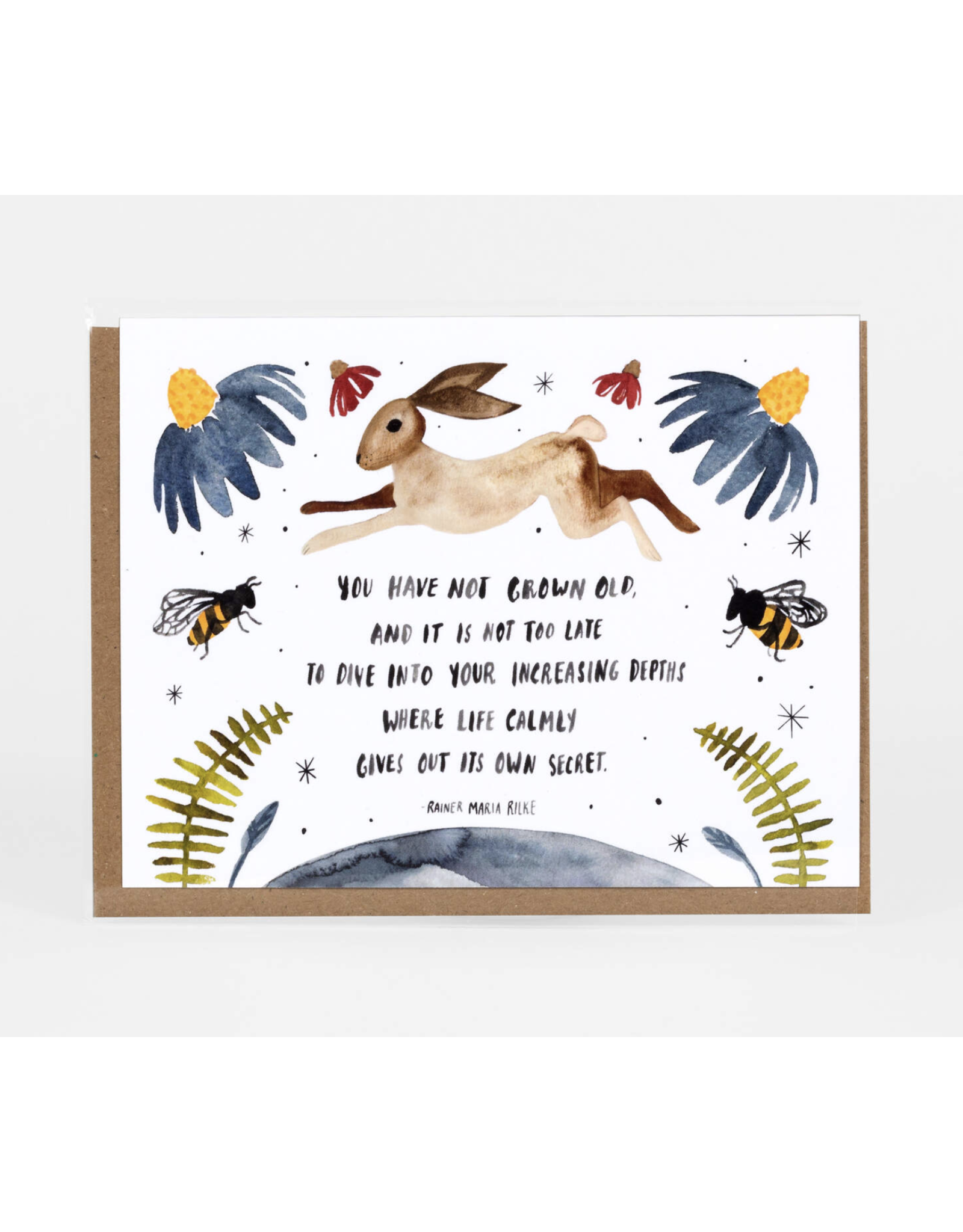 You Have Not Grown Old Greeting Card
