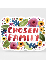 Chosen Family Floral Sticker