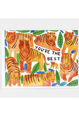 You're the Best Tigers Greeting Card