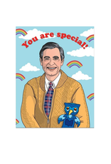 You Are Special (Mr Rogers) Greeting Card