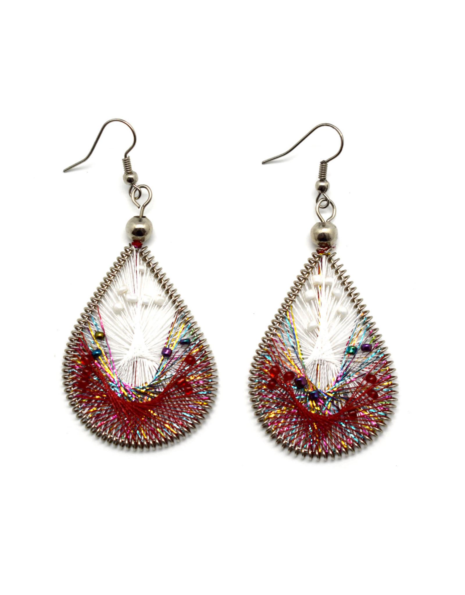 Dream Weaver Earrings - Azalea