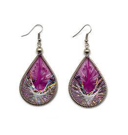 Dream Weaver Earrings - Amethyst
