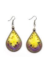 Dream Weaver Earrings - Canary