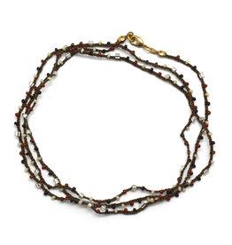 Tibet Wrap Necklace/Bracelet - Earth