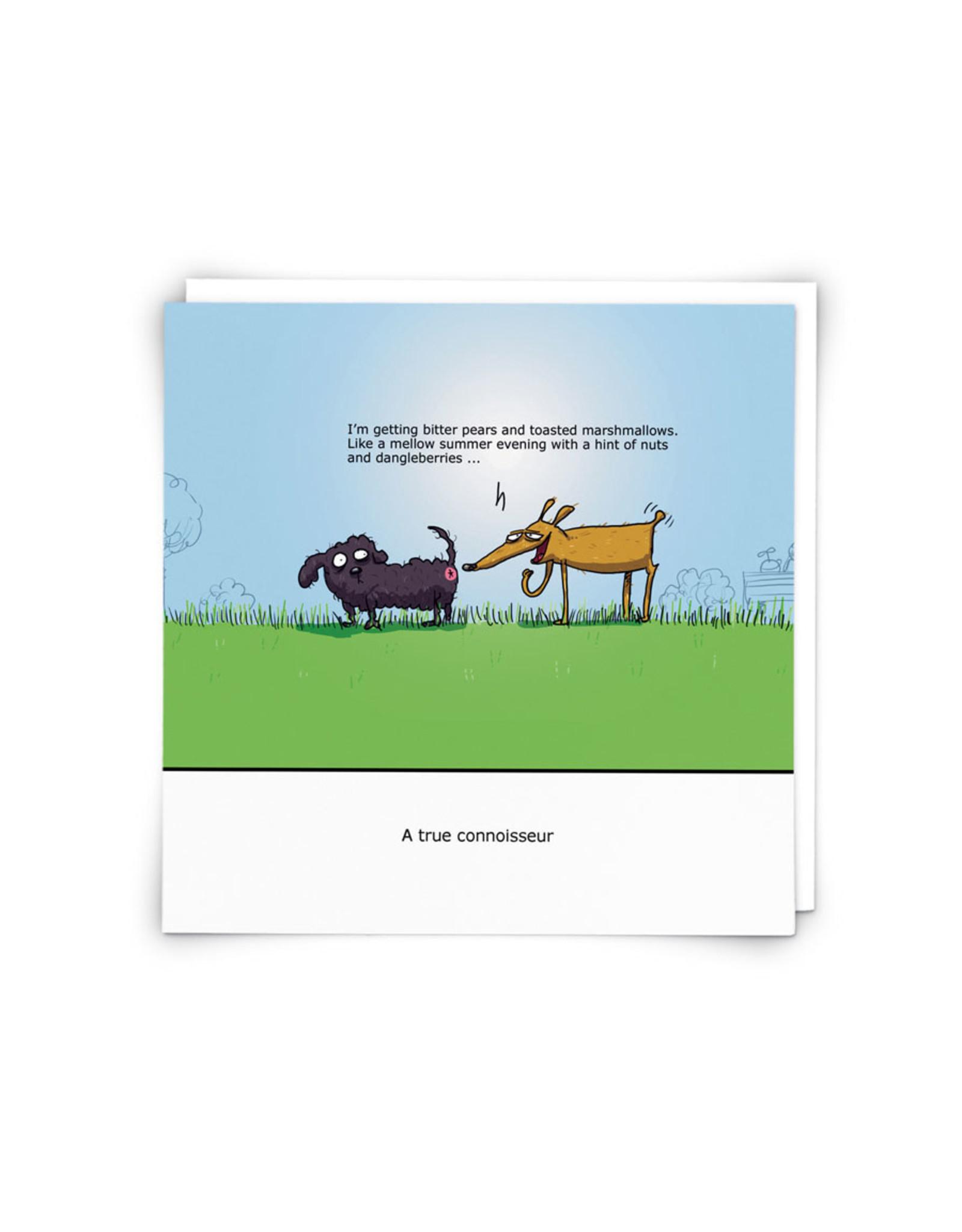 Dog Butt Connoisseur Greeting Card