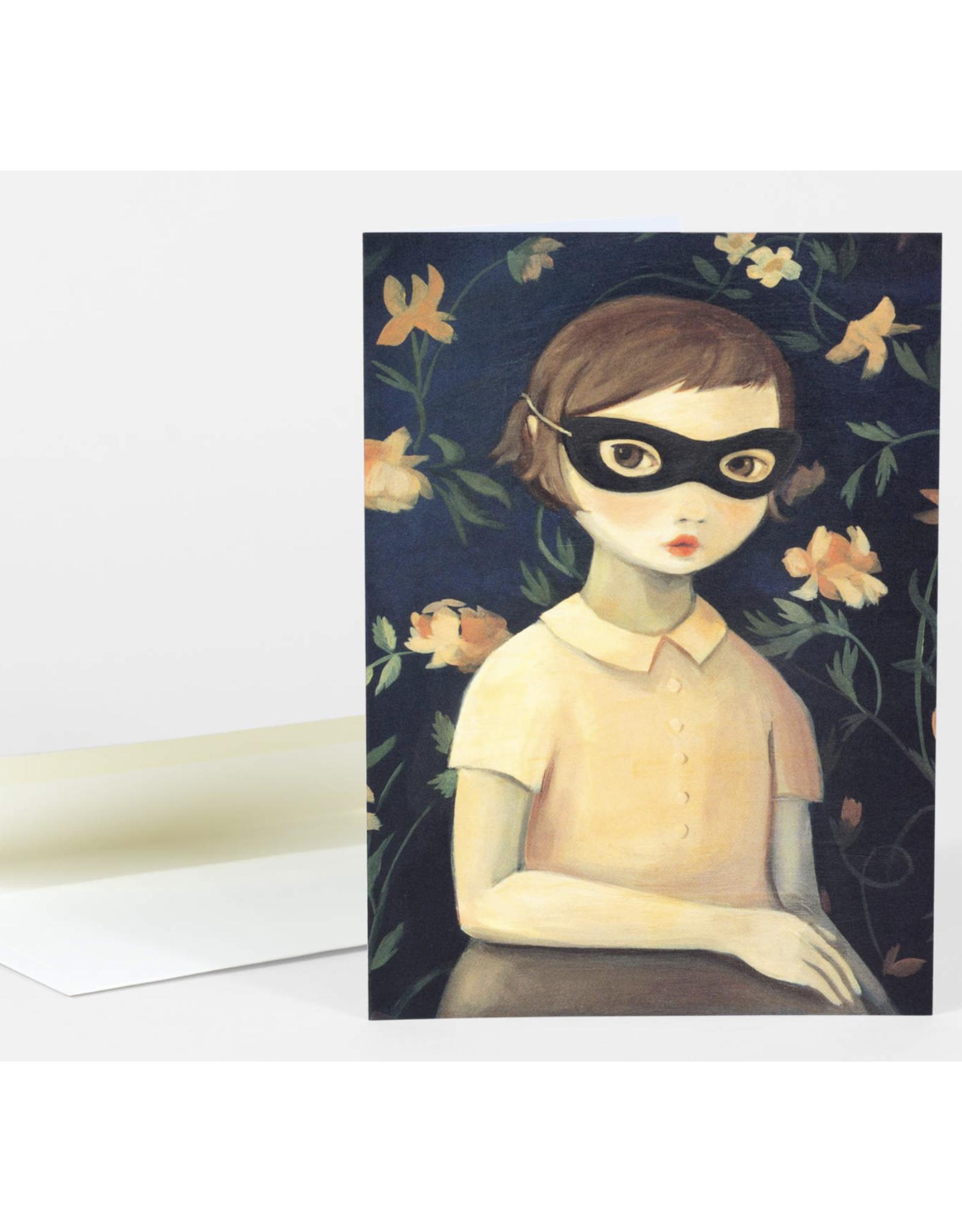 Portrait of Evaline Greeting Card