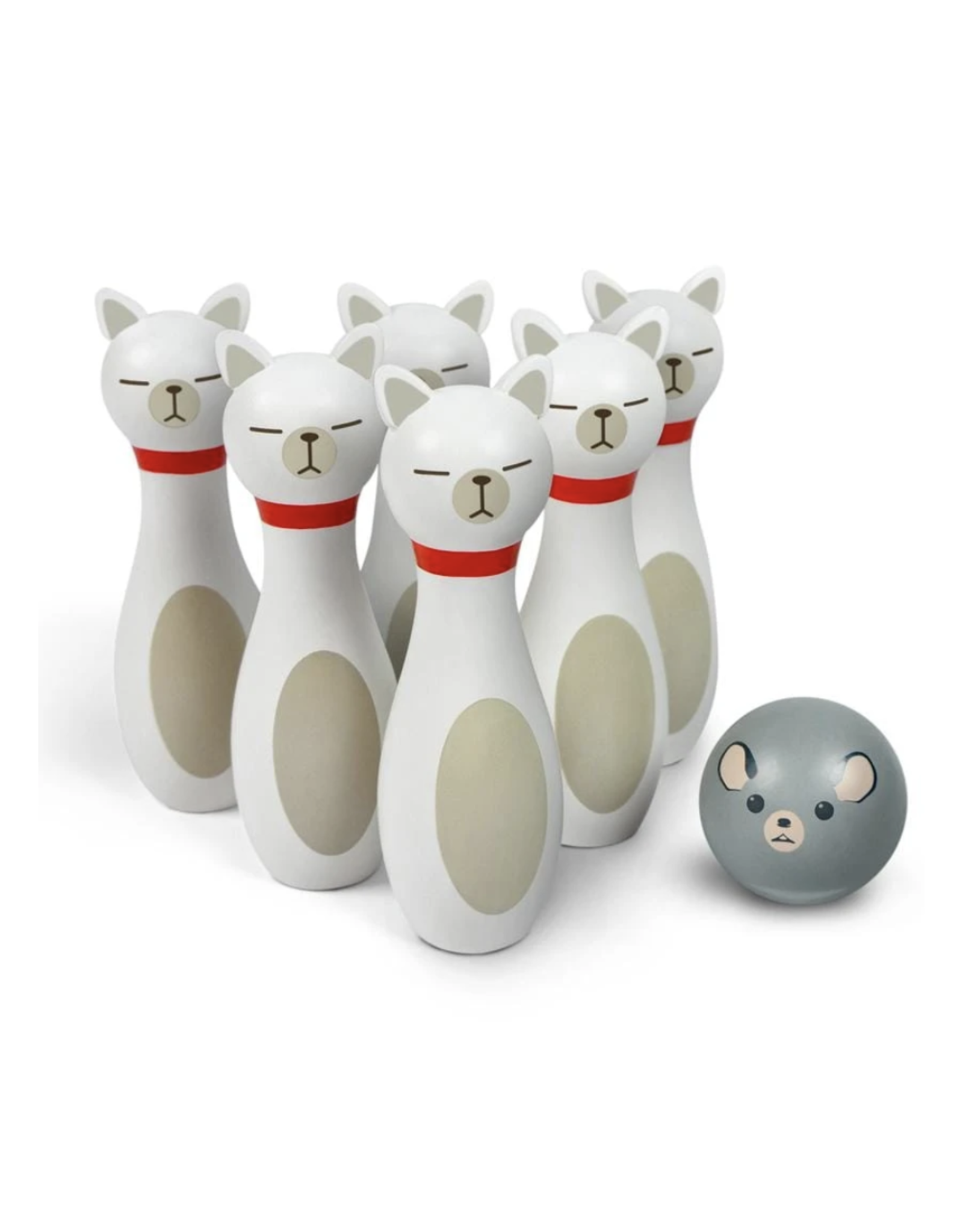 Bowling Alley Cats Game
