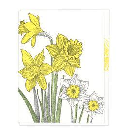 Daffodil Note Greeting Card