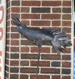 Crow on Stake (CURBSIDE PICKUP ONLY)