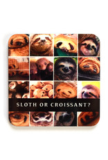 Sloth or Croissant? Coaster