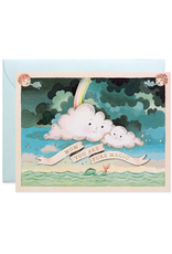 Mom You Are Pure Magic Clouds Greeting Card