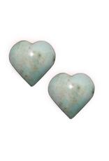 Chrysophrase Stone Heart