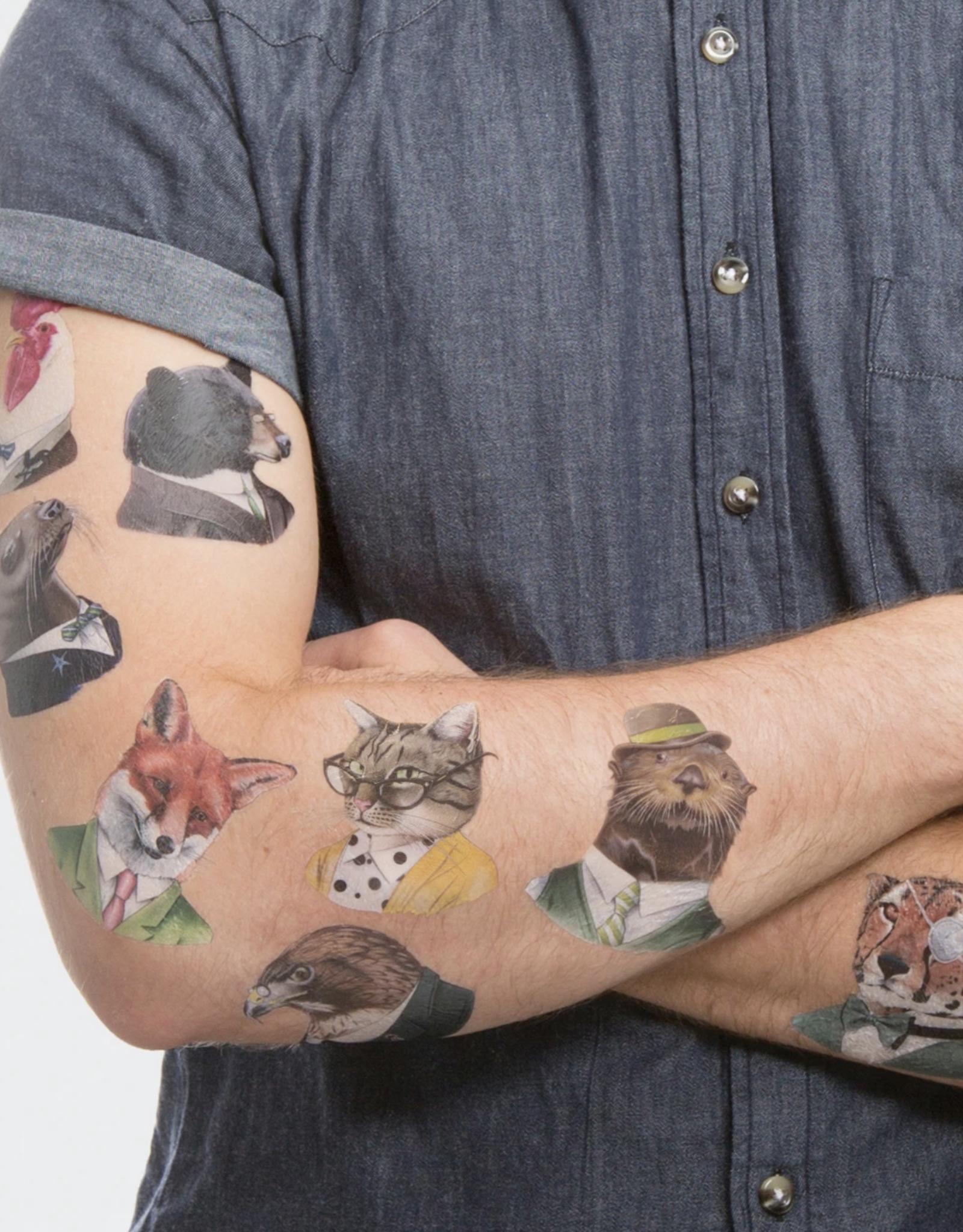 Animal Society Tattoo Set