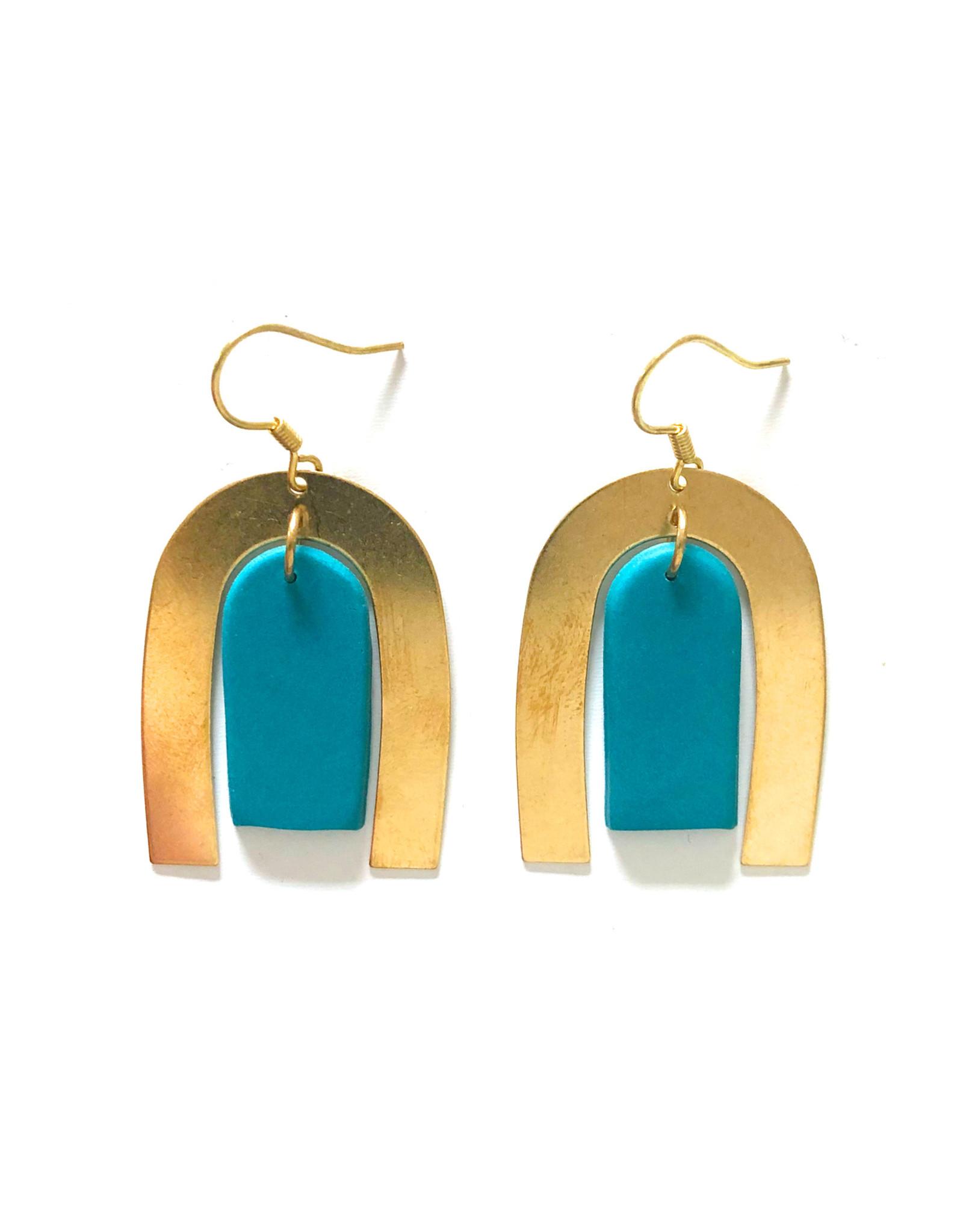 Aretha Earrings Azul