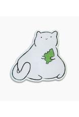 New Friend Cat Vinyl Sticker