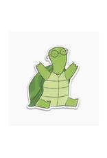 Tiny Turtle Vinyl Sticker