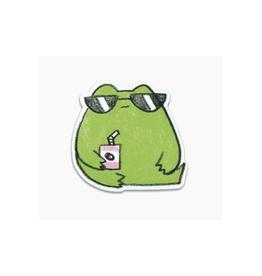 Tuff Frog Vinyl Sticker