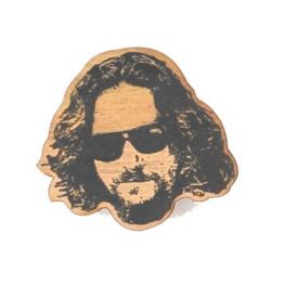 Jeff Bridges Wooden Magnet