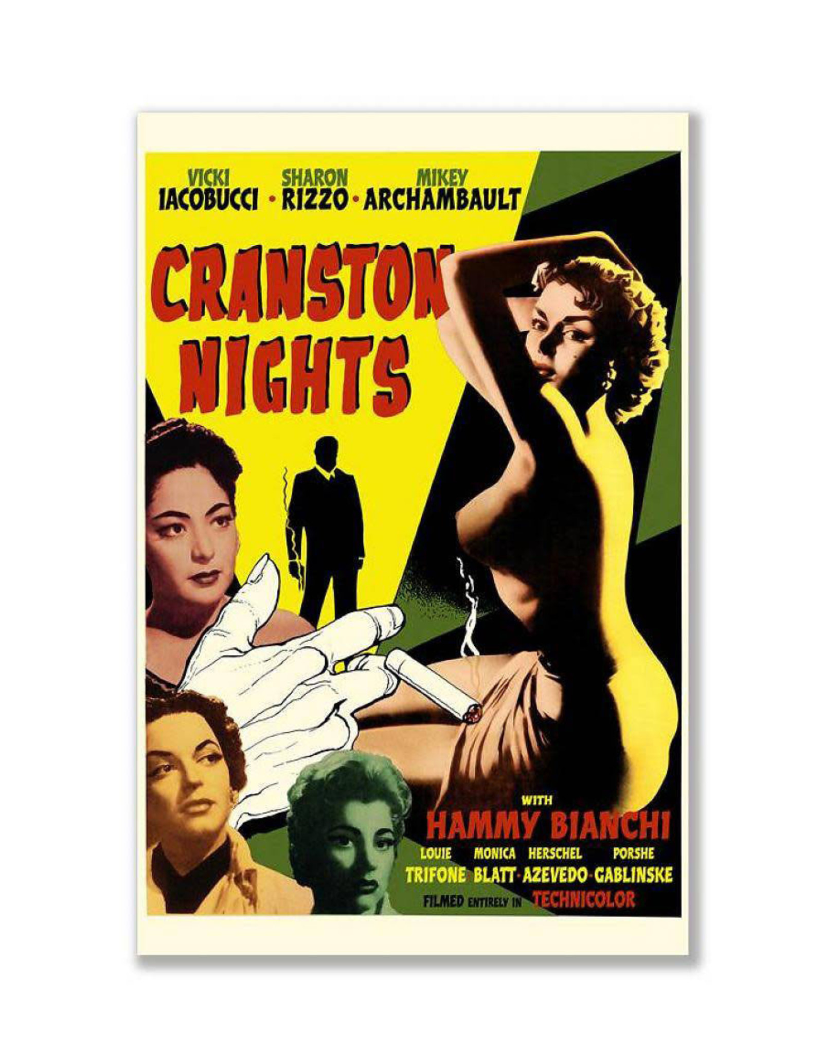 Cranston Nights Greeting Card