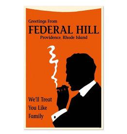 Federal Hill Greeting Card